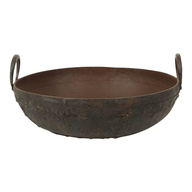 Large Metal Jardinieres From Southern India For Sale