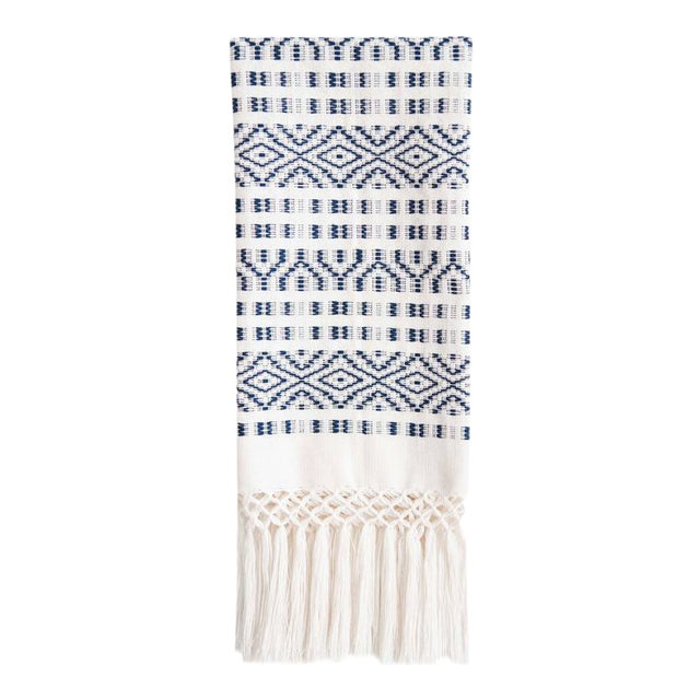 Navy Chiapas Hand Towel - Image 1 of 6