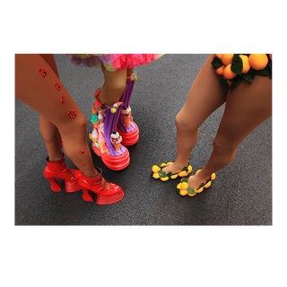 """""""Fancy Footwear - Manhattan, New York"""" Contemporary Photograph by George Diebold For Sale"""