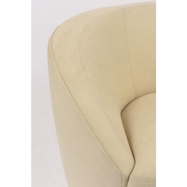 1970s Pair of Vladimir Kagan 1970 Swivel Lounge Chairs For Sale - Image 5 of 10