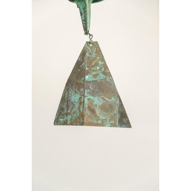 Mid-Century Modern Bronze Wind Chime by Paolo Soleri (3 Available) For Sale - Image 9 of 13