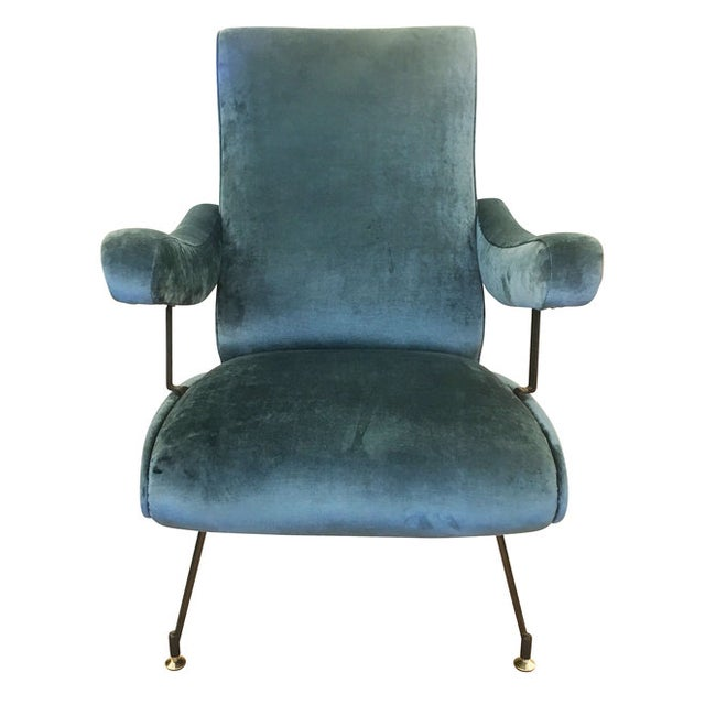 Mid-Century Modern Reclining Lounge Chair by Formanova For Sale - Image 3 of 6