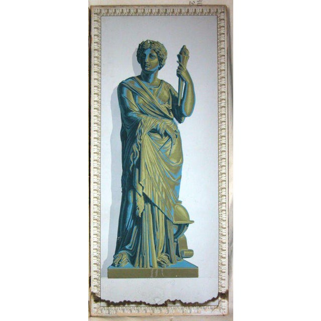 Greek Goddesses Wallpaper Panels - Set of 4 For Sale In Greensboro - Image 6 of 11