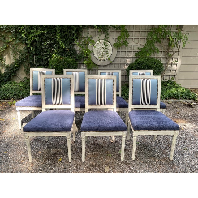 Set of Seven Dining Chairs by Bernhardt For Sale - Image 13 of 13