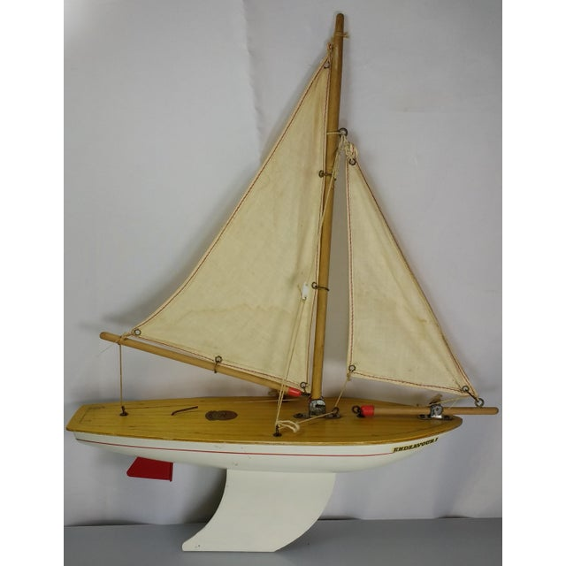 Vintage Star Yacht Pond Sail Boat For Sale - Image 11 of 11