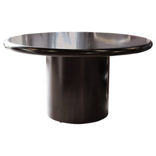 20th Century Dunbar Round Dining or Conference Table For Sale