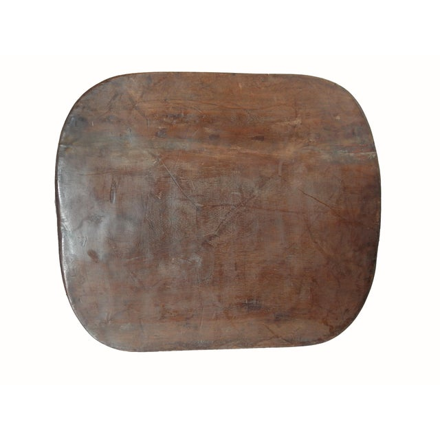 Wood Senufo Stool or Table Cote D'Ivoire For Sale - Image 7 of 10