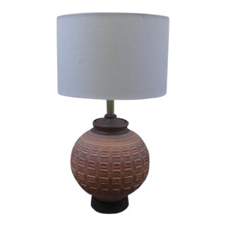 Affiliated Craftsmen Earthenware N-Series Table Lamp by Bob Kinzie