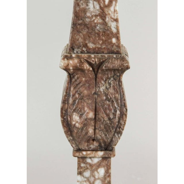 1920s Italian Marble Table Lamp For Sale - Image 4 of 6