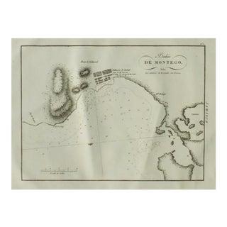 1809 Montego Bay, Jamaica Engraving For Sale