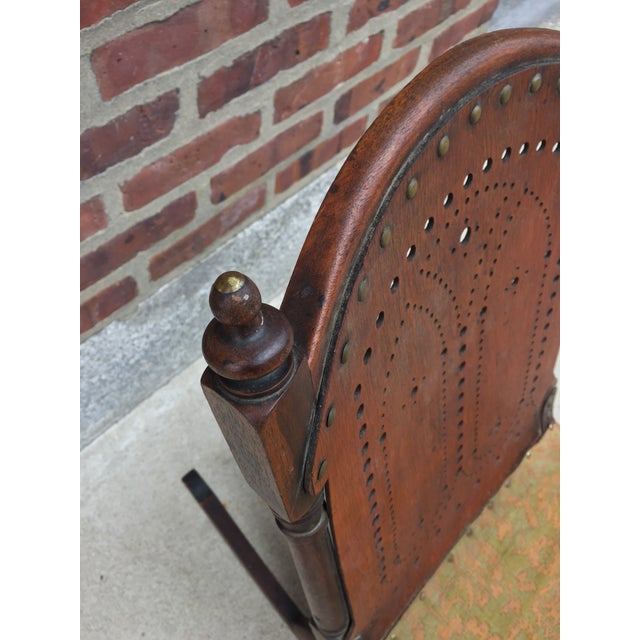 *Last Chance* Antique Victorian Child's Rocking Chair For Sale In Philadelphia - Image 6 of 13