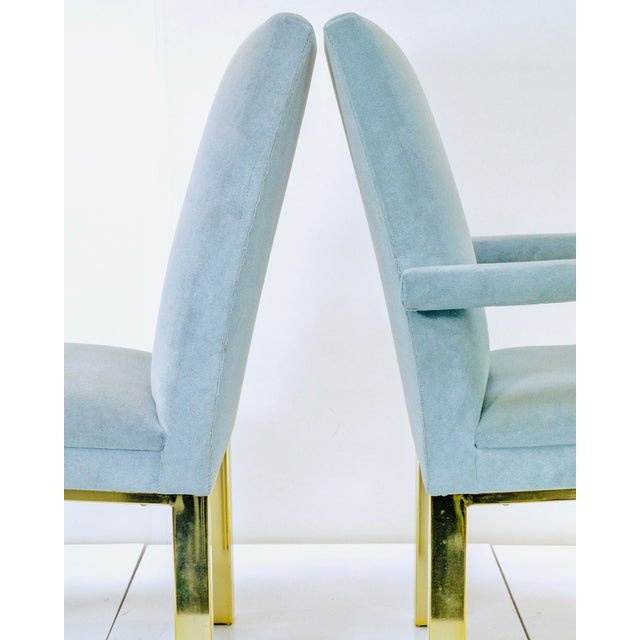 DIA - Design Institute America 1970s Milo Baughman for Dia Dining Chairs- A Pair For Sale - Image 4 of 7