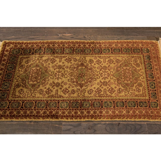 """Vintage Tabriz Rug, 2'2"""" x 4'6"""" For Sale - Image 4 of 5"""