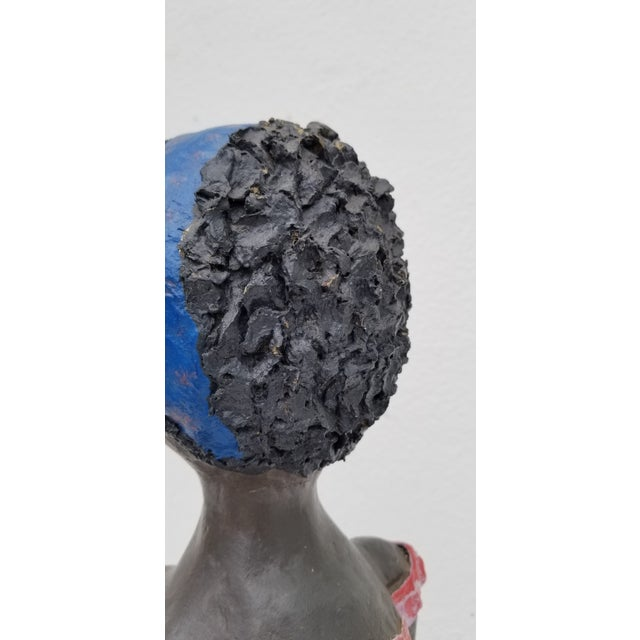 1980s Brazilian Female Sculpture For Sale - Image 11 of 13