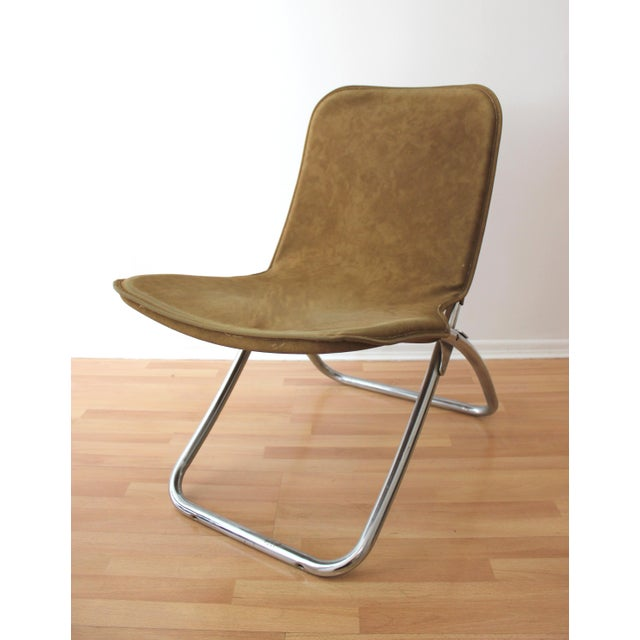 Folding Lounge Chairs - a Pair - Image 5 of 7