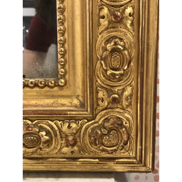 Newly Restored to its glory, this monumental overmantel mirror is a stunning addition to any interior, set it on the...