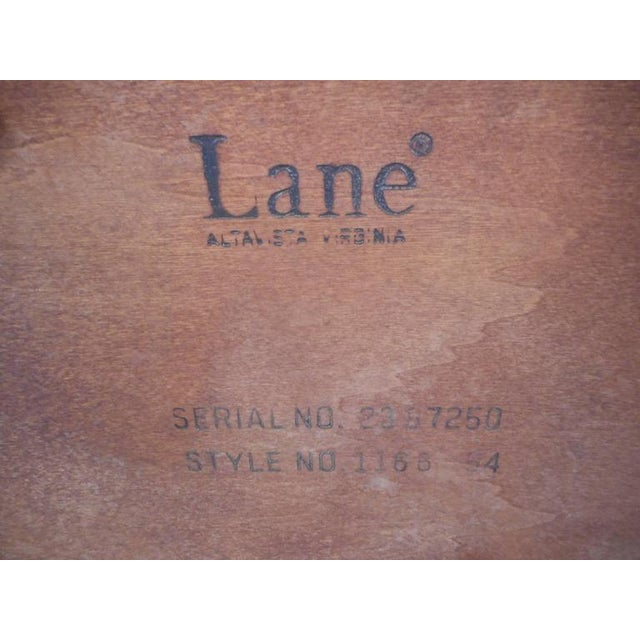 Mid-Century Modern Kidney Shaped Coffee Table by Lane Furniture - Image 8 of 9