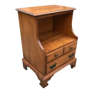 Sanford Furniture Solid Cherry Nightstand For Sale