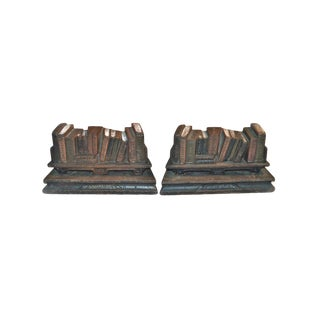 1920s Poets Writers Judd Bookends - a Pair For Sale