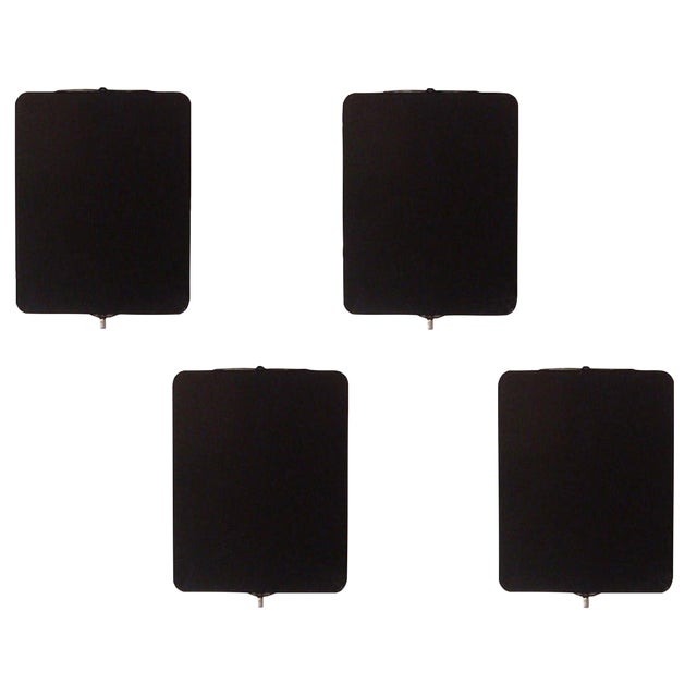 "1960s Black Charlotte Perriand ""Cp1"" Wall Lights For Sale"