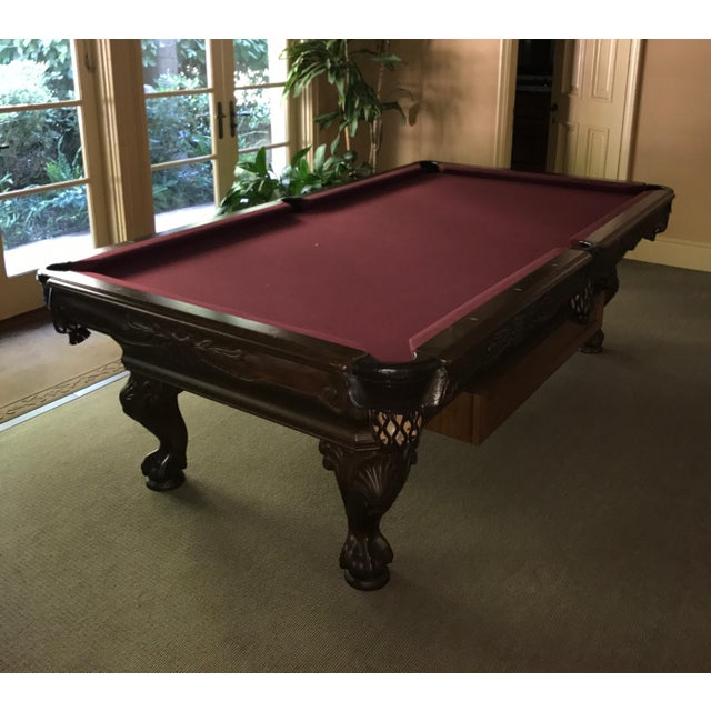 Custom Golden West Billiards Table Chairish - Pool table movers wichita ks
