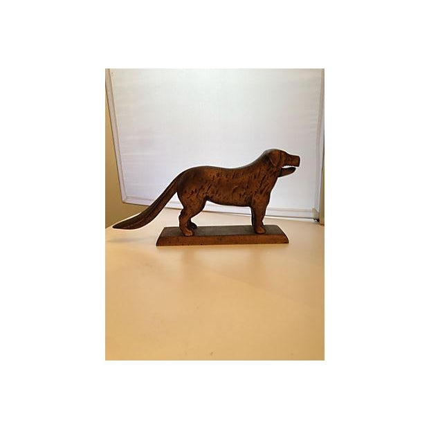 Brass Labrador Nutcracker - Image 2 of 6