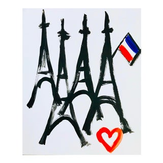 Paris Art Paris Love Painting For Sale