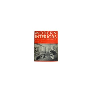 Vintage Interior Design Book Modern Interiors Today and Tomorrow by Emily Genauer For Sale