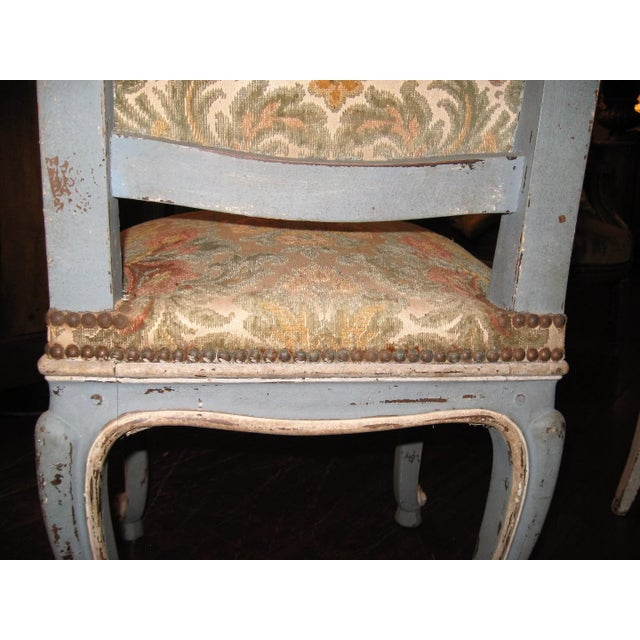 Set of Six French Antique Louis XV Dining Room Chairs - Image 6 of 10 - Incredible Set Of Six French Antique Louis XV Dining Room Chairs