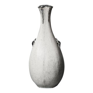 Danish Gray & White Ceramic Vessel