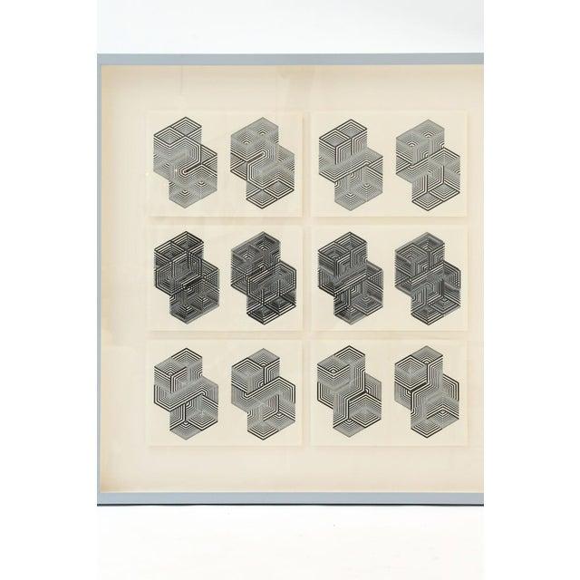 Original Letterpress Prints For Sale In Houston - Image 6 of 12