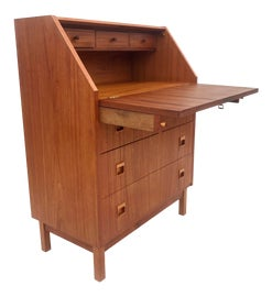 Image of Danish Modern Secretary Desks