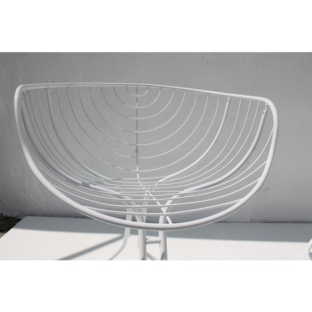 "Italian ""Pan Am"" Logo Chairs - A Pair - Image 9 of 11"