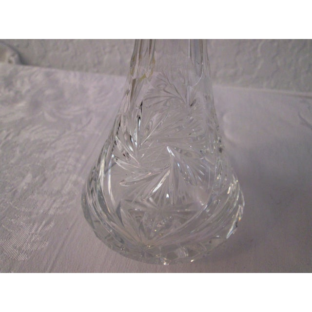 Cut Crystal Liquor Decanters - S/3 - Image 7 of 7