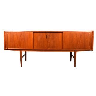 1960s Scandinavian Modern Teak Credenza For Sale