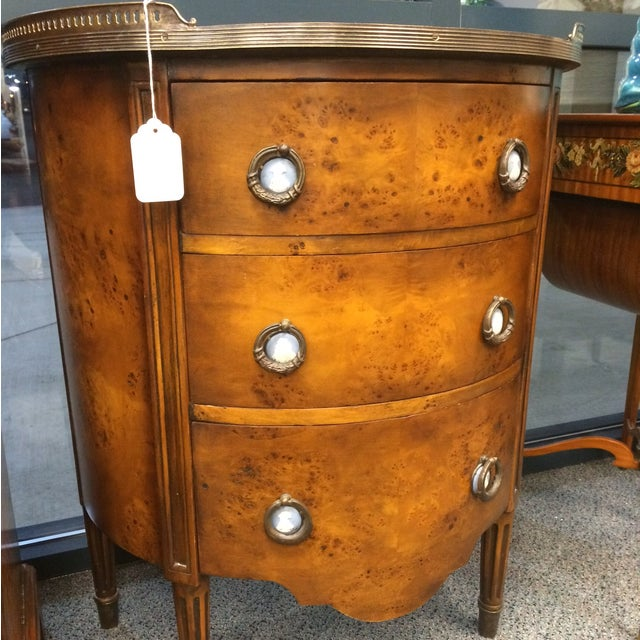 1850's Entry Table with Jasper Faced Pull Handle - Image 3 of 8