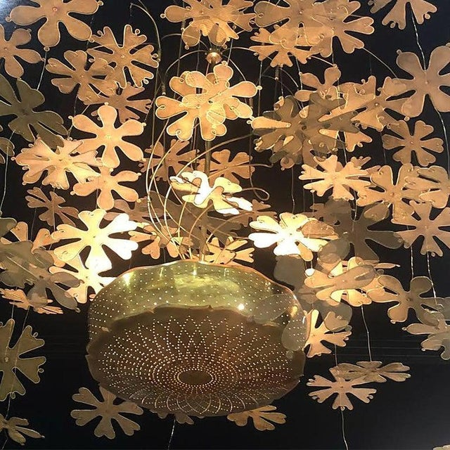 Rare and Important Paavo Tynell 'Fantasia' Snowflake Chandelier for Taito Oy For Sale - Image 10 of 12
