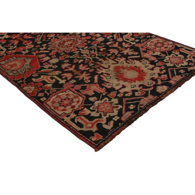 Traditional Vintage Turkish Oushak Accent Rug 2'10 X 4'1 For Sale - Image 3 of 5