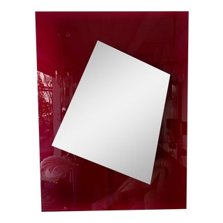 Italian Lightning Mirror by Nanda Vigo For Sale