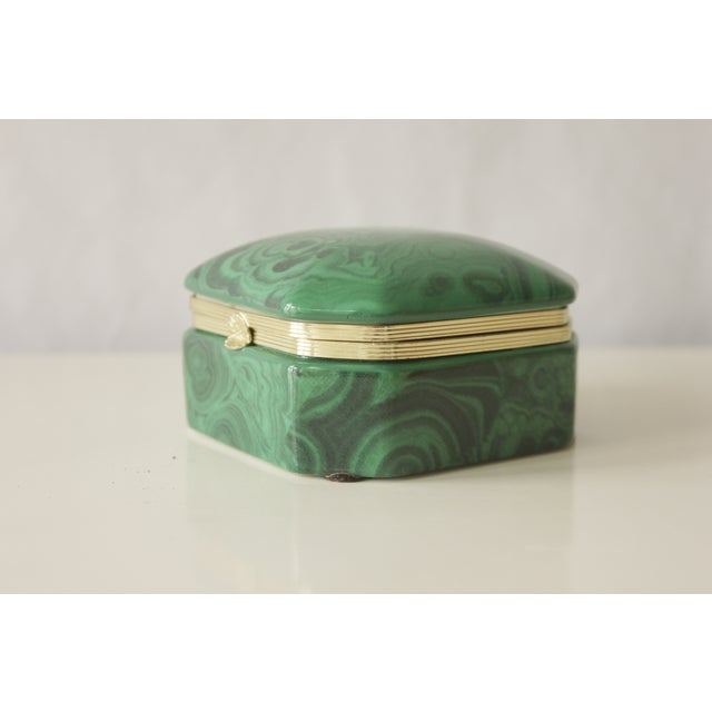 Malachite Box - Image 4 of 8