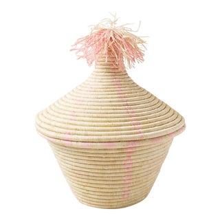 Pink Fike Basket