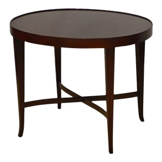Barbara Barry for Baker Oval Coffee Table For Sale