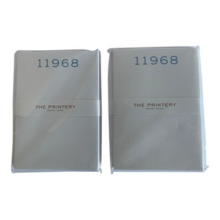 The Printery Southampton 11968 Notepads, Set of 2 For Sale