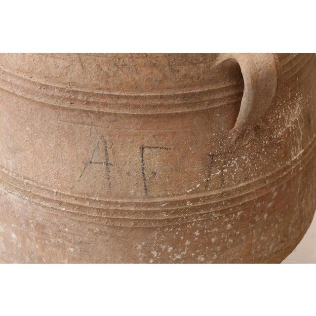 Antique Greek Olive Jar For Sale - Image 9 of 12
