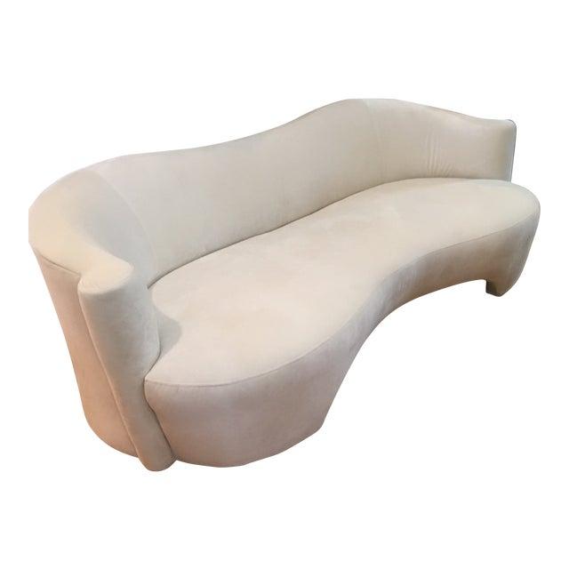 1980s Modern Vladimir Kagan Style Sofa For Sale