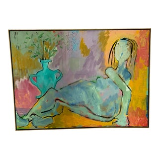 Nude Oil Painting by Larry Kessler For Sale