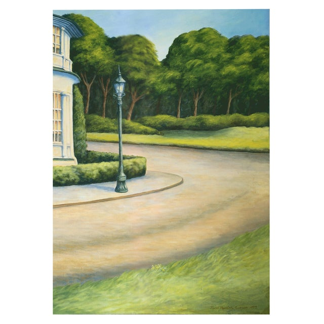 June Parrish Cookson Original Landscape Painting For Sale - Image 4 of 5