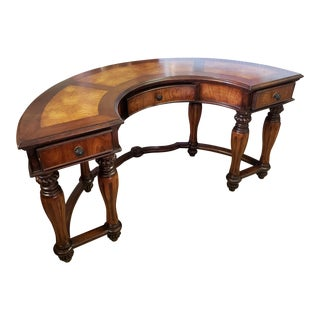 19th Century French Renaissance Revival Kidney Shaped Writing Desk For Sale