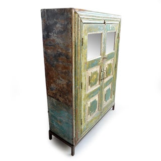 Antique Colonial Storage Cabinet Preview