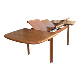 Diethelm Scanstyle Danish Modern Butterfly Dining Table in Teak For Sale
